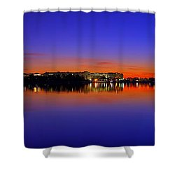Tidal Basin Sunrise Shower Curtain