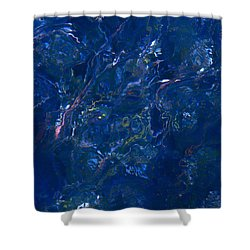 Tidal Drift Shower Curtain