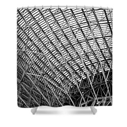 Tidbinbilla Deep Space Station Shower Curtain by Steven Ralser