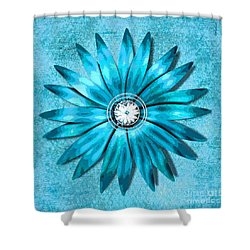 Tiffany Blue And Diamonds Too Shower Curtain