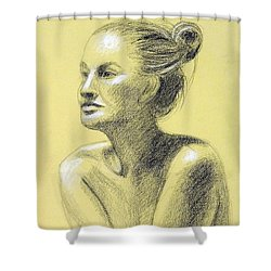Tiffany Portrait Shower Curtain
