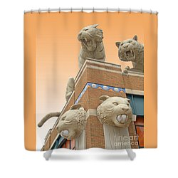 Tiger Town Shower Curtain
