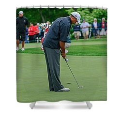 D12w-457 Tiger Woods Shower Curtain