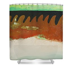 Tigers Hide Shower Curtain by Joseph Demaree