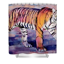 Tigress, Khana, India Shower Curtain