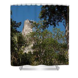 Tikal Pyramid 4a Shower Curtain