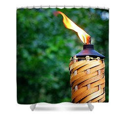 Tiki Time Shower Curtain by Greg Simmons