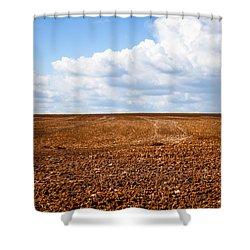 Tilled Earth Shower Curtain