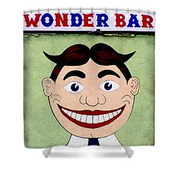 Tillie - Wonder Bar Shower Curtain by Colleen Kammerer
