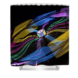 Shower Curtain featuring the photograph Tilt A Whirl by Steven Bateson