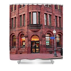 Tim Hortons Coffee Shop Shower Curtain by Glenn Gordon