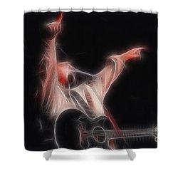 Tim Mcgraw Ga22 - Fractal Shower Curtain by Gary Gingrich Galleries