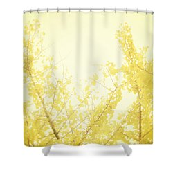Time After Time Shower Curtain by Amy Tyler