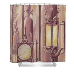 Time And Light Shower Curtain