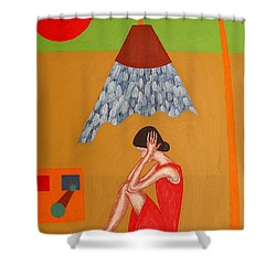Time For A Cooldown Shower Curtain by Patrick J Murphy