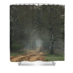 Time For Good Shoes In The Nature Shower Curtain