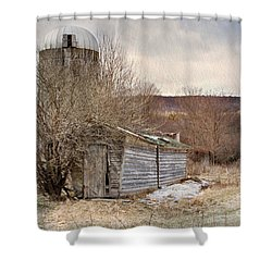 Time Gone By  Shower Curtain by A New Focus Photography