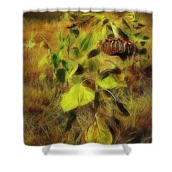 Time Is The Enemy Shower Curtain
