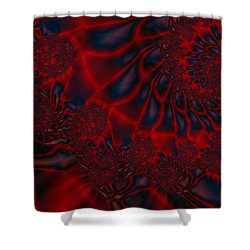 Shower Curtain featuring the digital art Time Slide by Elizabeth McTaggart