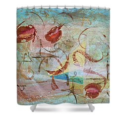 Time Softened Memory Shower Curtain