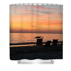 Shower Curtain featuring the photograph Time To Reflect by Karen Silvestri