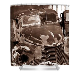 Time Traveler Pennsylvania Ave Wilkes Barre Pa Shower Curtain