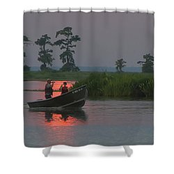 Time With Dad Shower Curtain