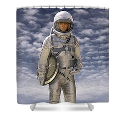 Time Zone Shower Curtain by Mike McGlothlen