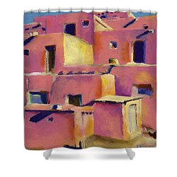 Timeless Adobe Shower Curtain by Stephen Anderson