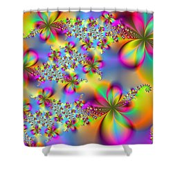Shower Curtain featuring the digital art Timeless Elegance by Ester  Rogers