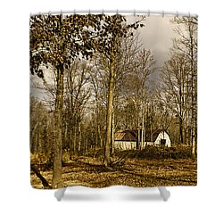 Timeless Shower Curtain by Swank Photography