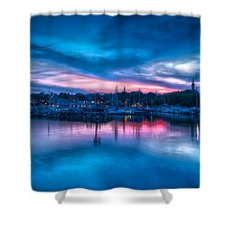Timeless View Shower Curtain by James  Meyer