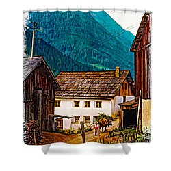 Timeless Vignette Version Shower Curtain by Steve Harrington