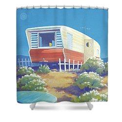 Timetraveler Shower Curtain