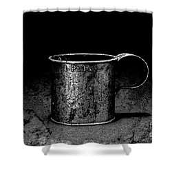 Tin Cup Chalice Shower Curtain