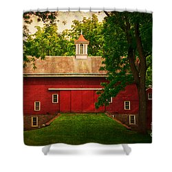 Tinicum Barn In Summer Shower Curtain