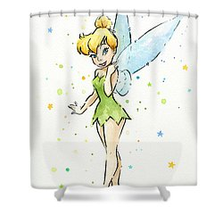 Tinker Bell Shower Curtain