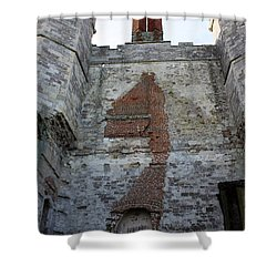 Titchfield Abbey From Within Shower Curtain by Terri Waters