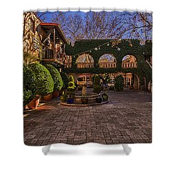 Shower Curtain featuring the photograph Tlaquepaque Village No.1 by Mark Myhaver