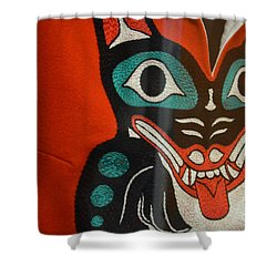 Tlinget Shower Curtain by Brian Boyle