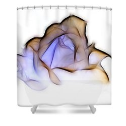 To A Rose Shower Curtain
