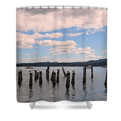 To Each His Own Shower Curtain by Kym Backland