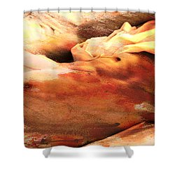 To Improve The Reality Shower Curtain by Mark Ashkenazi
