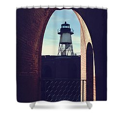 To Light The Way Shower Curtain by Laurie Search