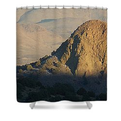 To The End Of Nevada Shower Curtain