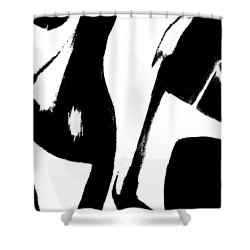 To The Good Life Shower Curtain by Lisa Kaiser
