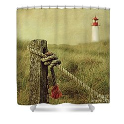 To The Lighthouse Shower Curtain
