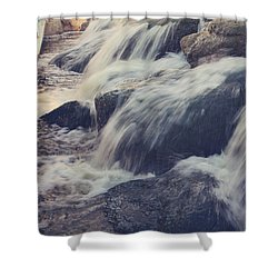 To The Place I Love Shower Curtain by Laurie Search