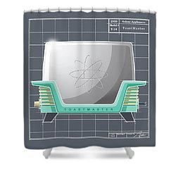 Toastmaster - Aqua Shower Curtain