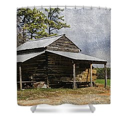 Tobacco Barn In North Carolina Shower Curtain
